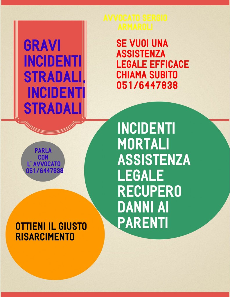avvocato per incidenti